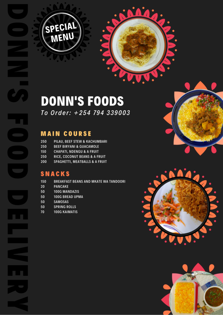 Donn's Food Delivery