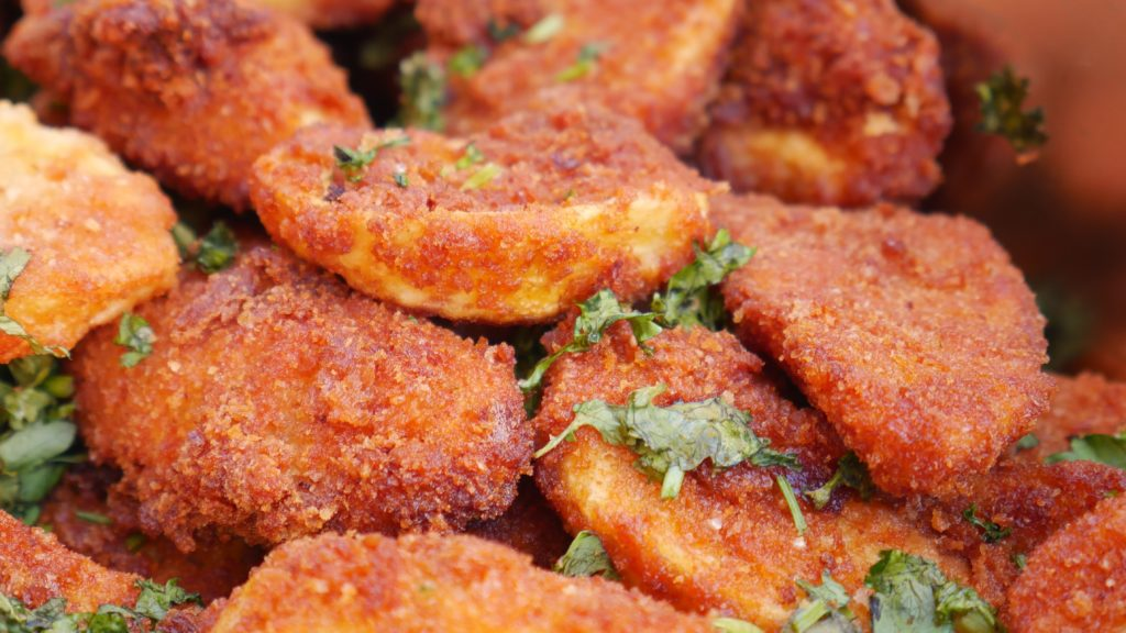 Fried Spicy Potatoes